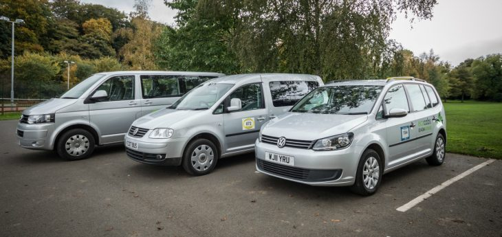 EcoCabs Fleet at Corbridge