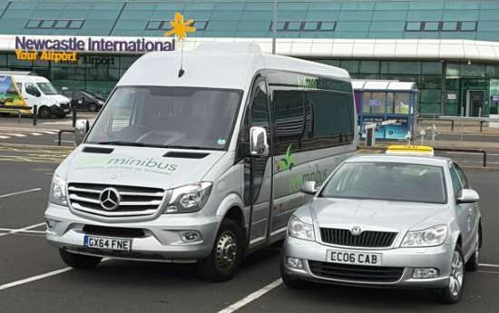 Newcastle Airport EcoCabs Private Hire Taxi Service