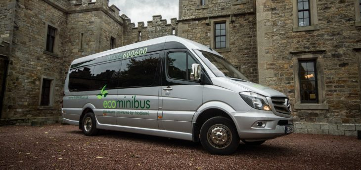 Otterburn Castle EcoCabs Mini Coach