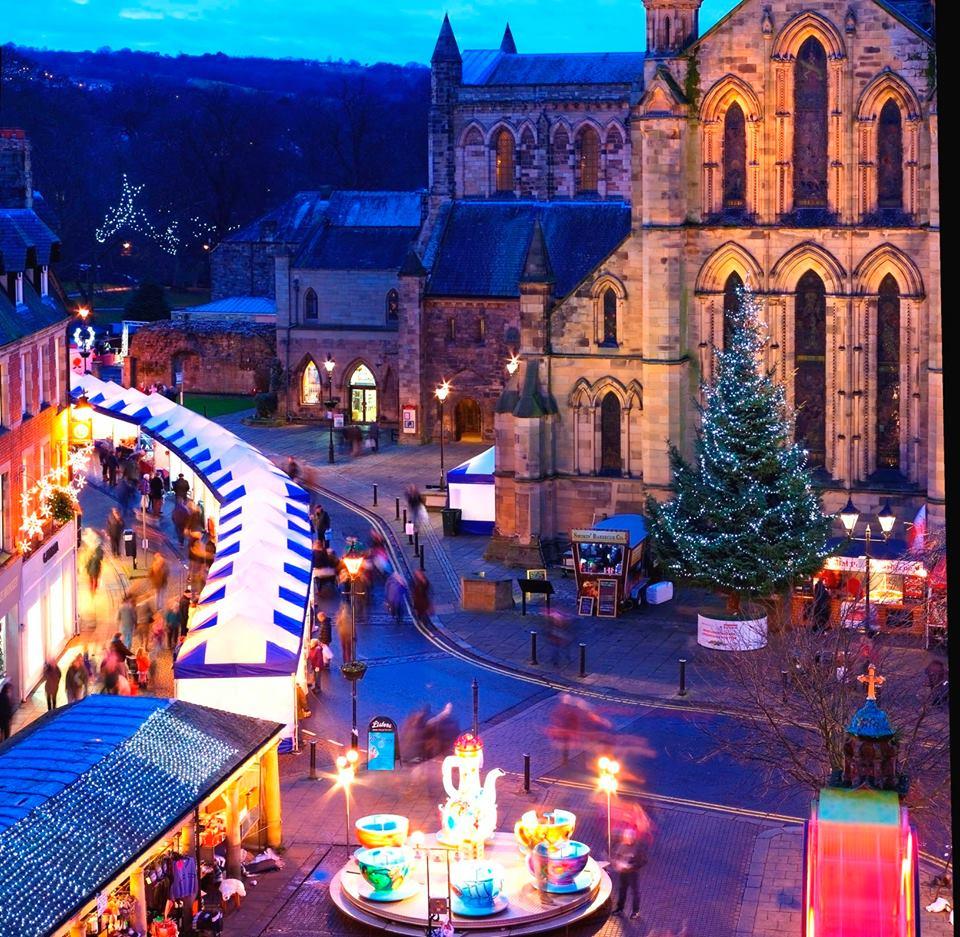 Hexham Christmas Lights