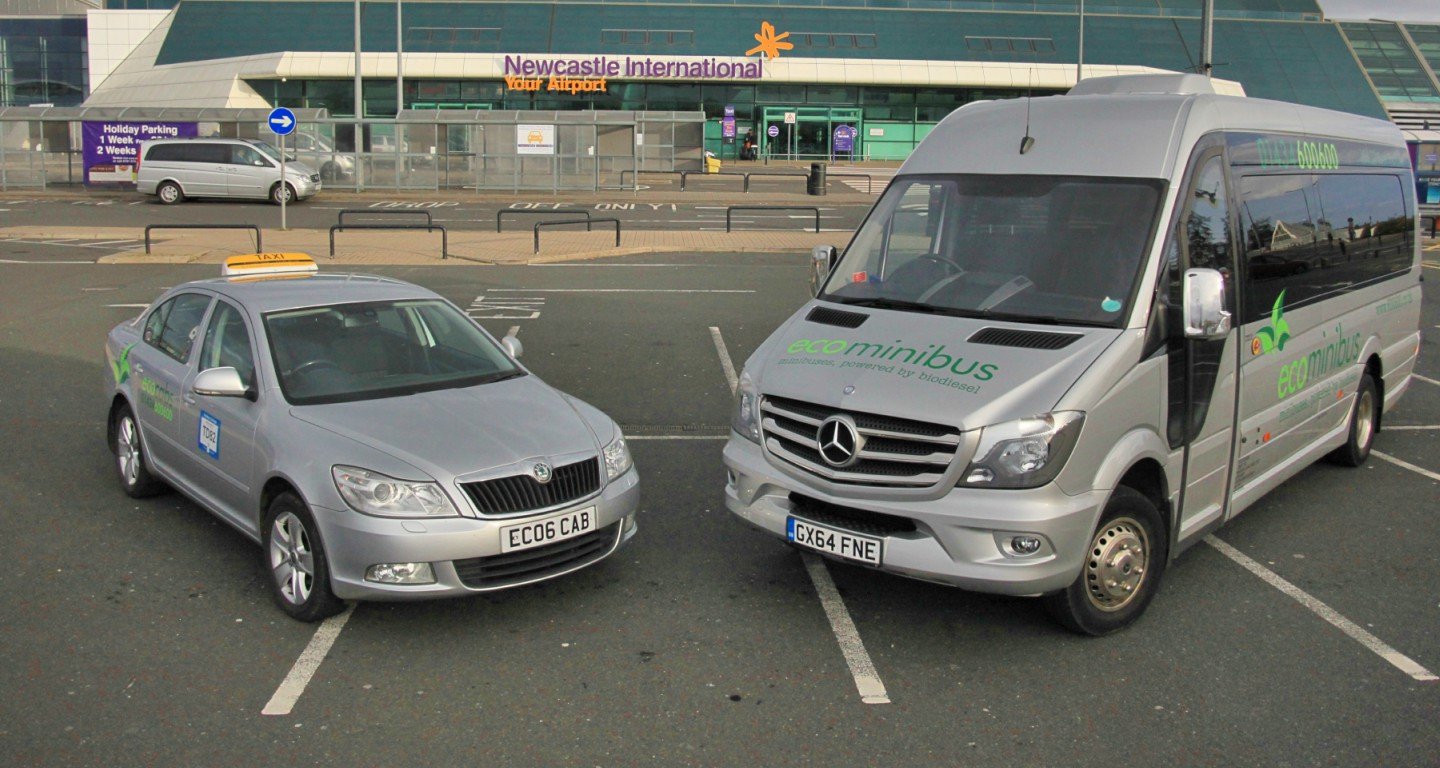 Eco Cabs Taxis Hexham to Newcastle