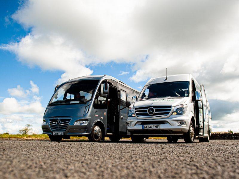 25 seat mini midi coach hire